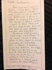 Dad Pens Adorable Letter From The Tooth Fairy To His Daughter