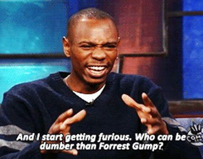 Dave Chappelle Explains Why Forrest Gump Makes Him Mad
