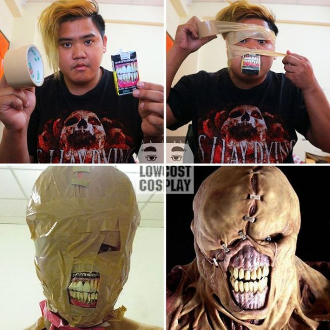 Cheap Cosplay Guy Strikes Again With More Awesome Low Cost Costumes