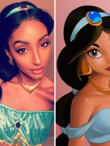 This Woman Looks Just Like Disney's Princess Jasmine In Real Life