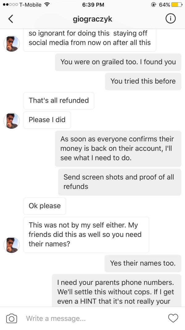 Instagram Scammer Learns A Hard Lesson After Getting Busted | Others