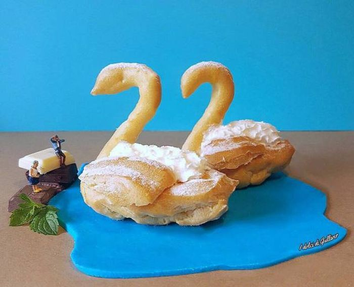 Creative Pastry Chef Turns His Desserts Into Miniature Worlds