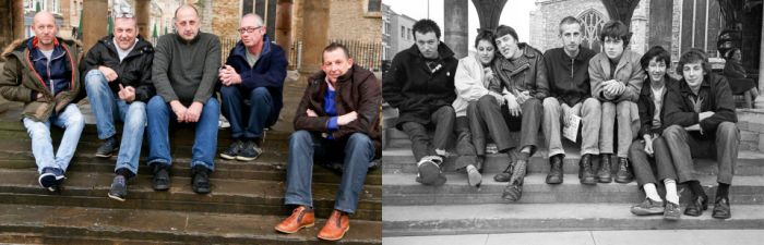 Amateur Photographer Recreates Old Photos With The Same People