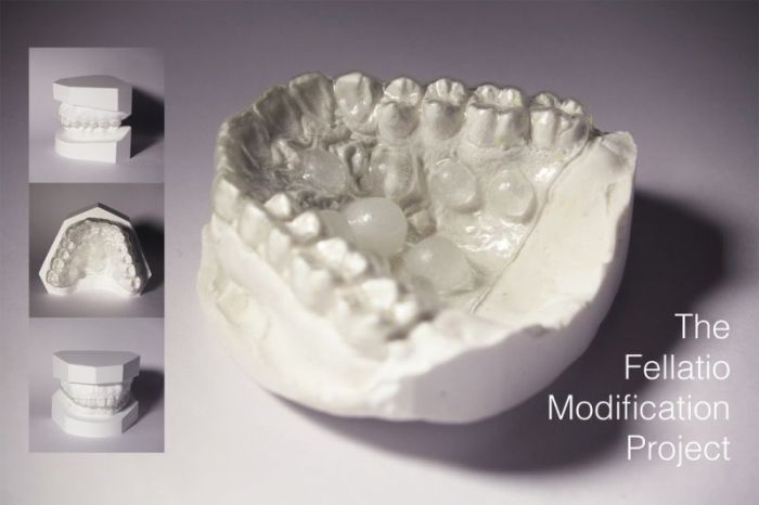 Dentist Creates A Prothesis Designed To Enhance Blowjobs