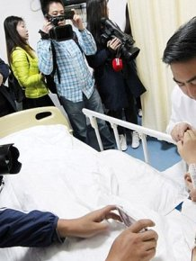 Chinese Doctor Grows Ear On Man's Arm To Help Restore His Hearing