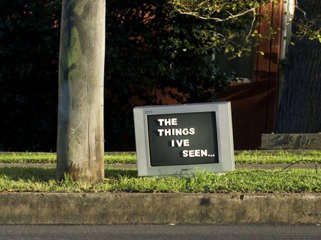 Sydney Artist Leaves Unusual Signs Around The City