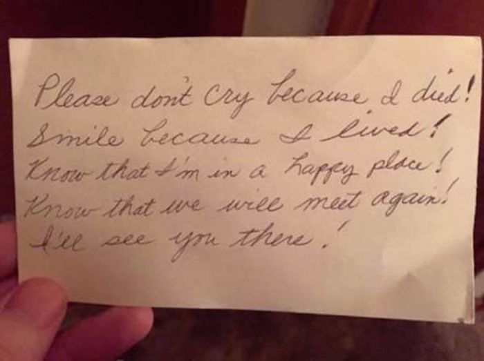 This Husband Found A Note From His Late Wife, And It Will Hit You In The Feels