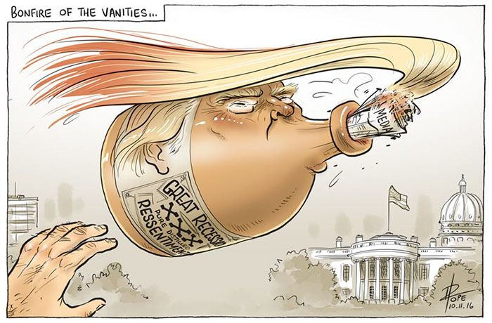 Cartoonists Around The World React To Donald Trump Becoming President