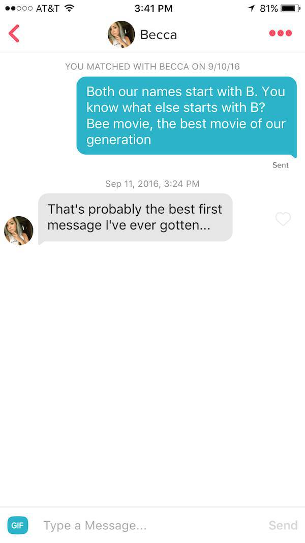 Funny Guy Busts Out Successful Pickup Lines On Tinder