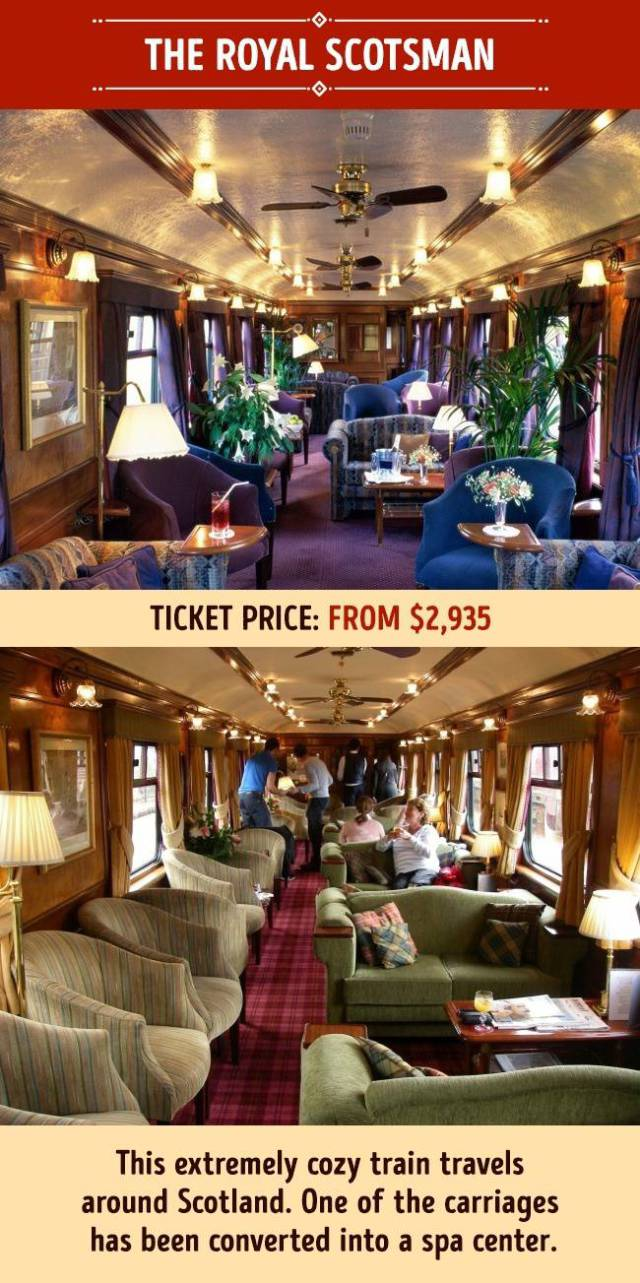 Luxurious Trains Everyone Wishes They Could Ride At Least Once