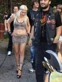 Strange Things You Can See At A Biker Rally
