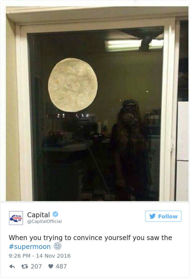 The Best Internet Reactions To The Supermoon