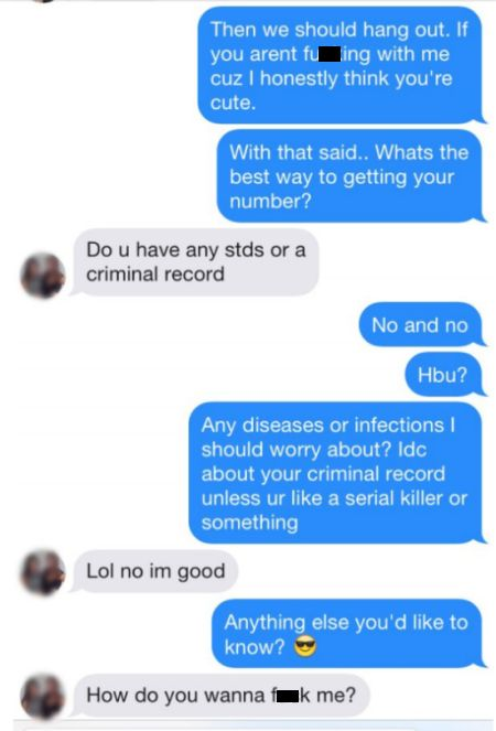 Times When Tinder Users Stopped Messing Around And Got To The Point