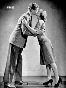 Guide From The 1940s Reveals The Correct Way To Kiss