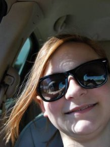 Girl Gets Photobombed By A Ghost While Snapping A Selfie In The Car