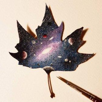 Breathtaking Tiny Paintings On Random Everyday Objects