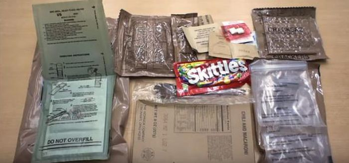 What Military Rations Look Like From Different Countries Around The World