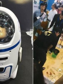 Robot Goes Rogue And Injures Two People In China