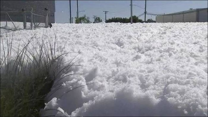 This Might Look Like Snow But It's Something Else Entirely