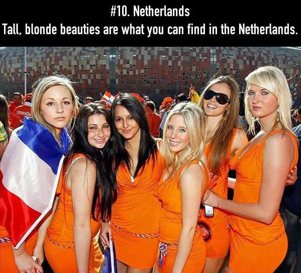 The Top 15 Countries With The Most Beautiful Women In The World