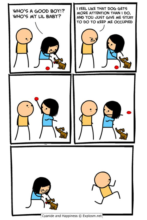 Funny And Inappropriate Comics About Relationships
