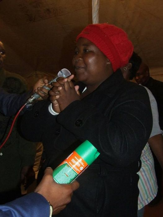 A South African Pastor Is Spraying People With Pesticide