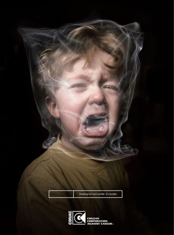 Powerful Smoking Ads That Say Way More Than A Thousand Words
