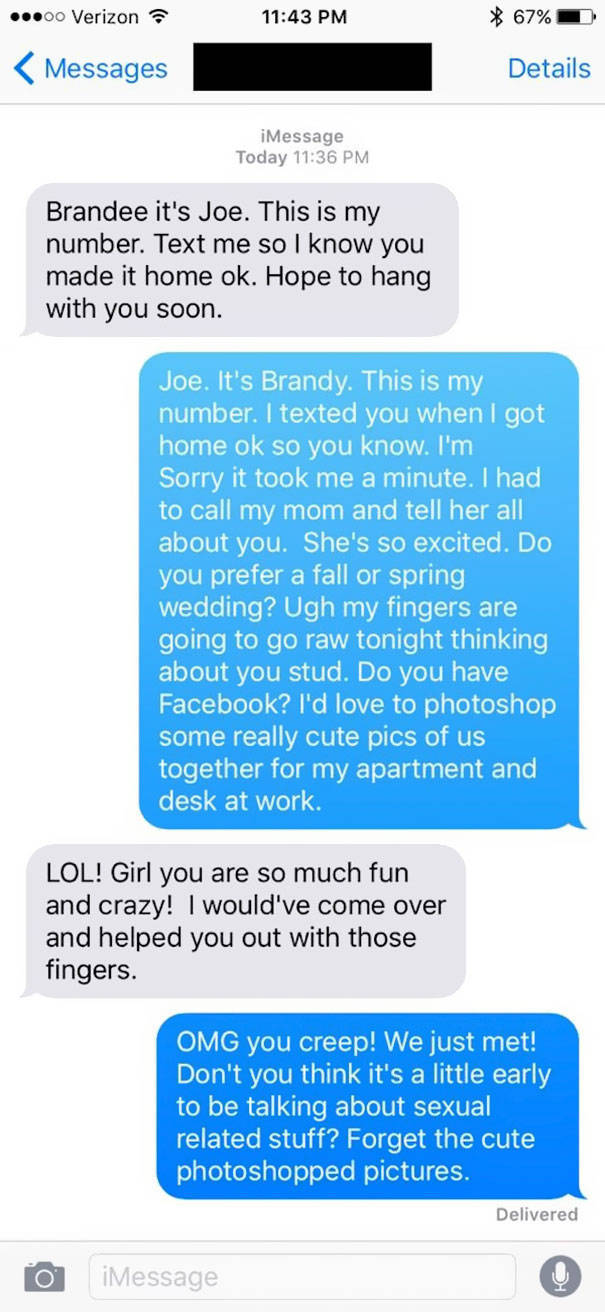 Guy Trolls Dudes After Girl Gives Them The Wrong Number