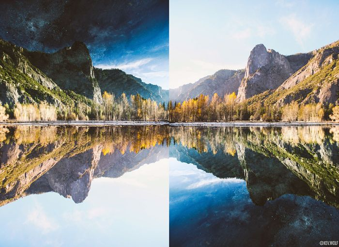 Photographer Finds Something Incredible After Flipping His Photo