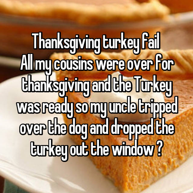 Awkward Thanksgiving Fails That Will Crack You Up