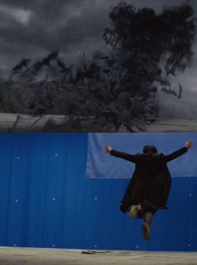 Incredible Behind The Scenes Pics Show How Movie Magic Is Made