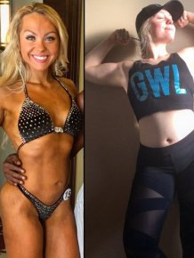 Female Bodybuilder Reveals Her Off Season Physique