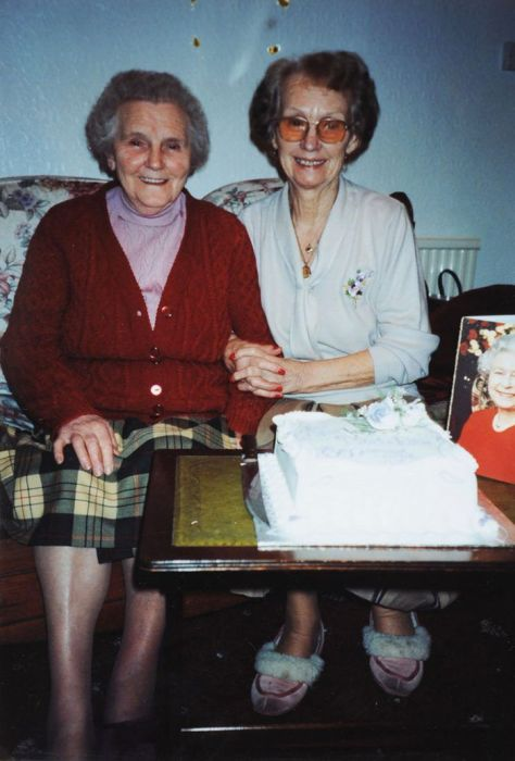 Twin Sisters Reveal Their Secret To A Long Life On Their 100th Birthday