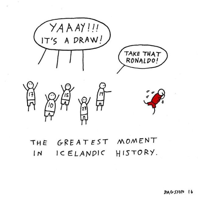Icelandic Humor Comes From A Very Dark Place