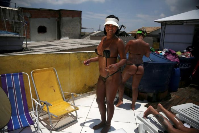 Bikini Tape Is All The Rage In Brazil Right Now