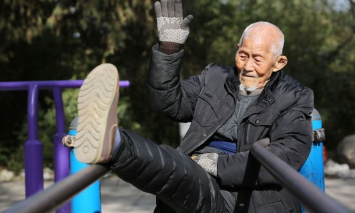 At 101 Years Old This Man Still Heads To The Park Everyday