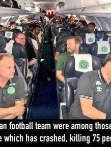 Plane Carrying Brazilian Football Team Crashes And Kills 75 People
