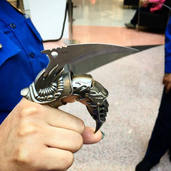 All The Crazy Weaponry That People Have Attempted To Take On A Plane