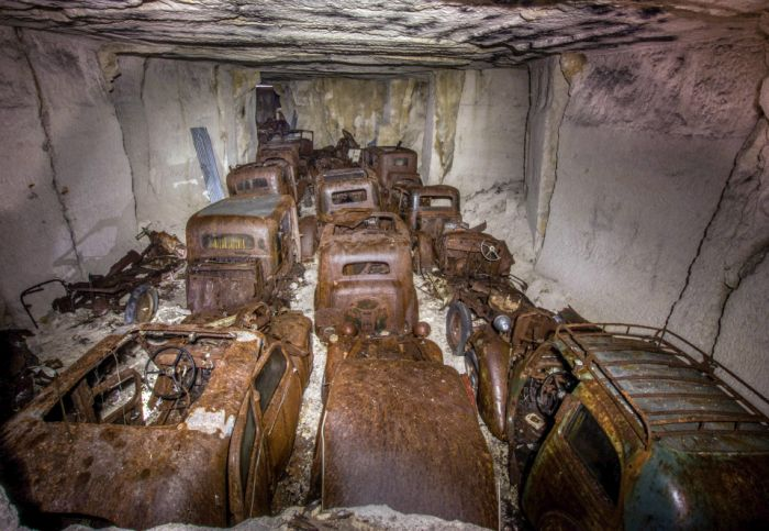 World War Two Era Cars Discovered Underground After 80 Years