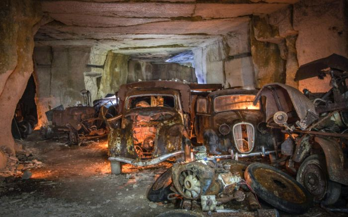 World War Two Era Cars Discovered Underground After 80