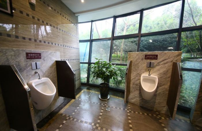 Take A Look At China's Five Star Toilet