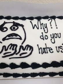Hilarious Office Farewell Cakes That Will Crack You Up