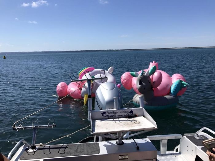 Fishermen Rescue Teens Who Floated Out To Sea On Inflatable Animals