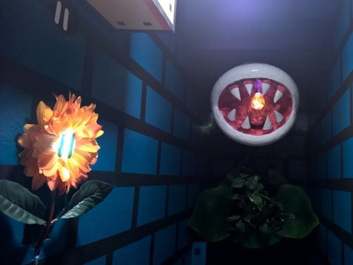Guy Turns His Hallway Into A Mini Mushroom Kingdom