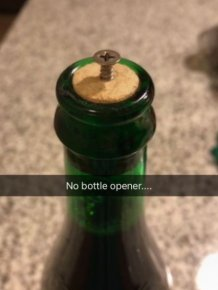 Woman Shares Brilliant Hack She Uses To Open Wine Bottles