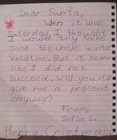 Some Of The Funniest Letters That Kids Have Ever Written To Santa
