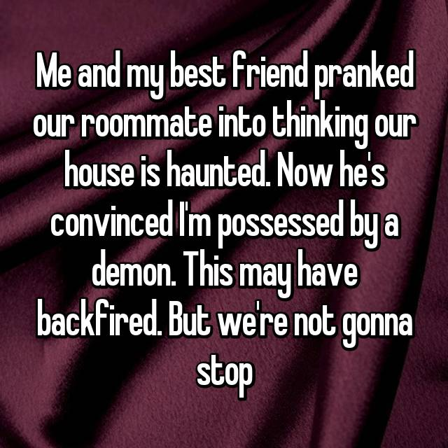 Roommate Pranks That Are Just Straight Up Evil
