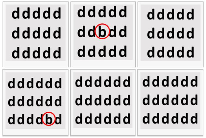 See If Your Eyes Can Find The Letters Hidden In This Test
