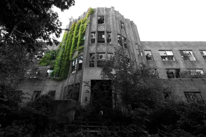 Gloomy Abandoned Hospital Provides A Perfect Backdrop For Nightmares