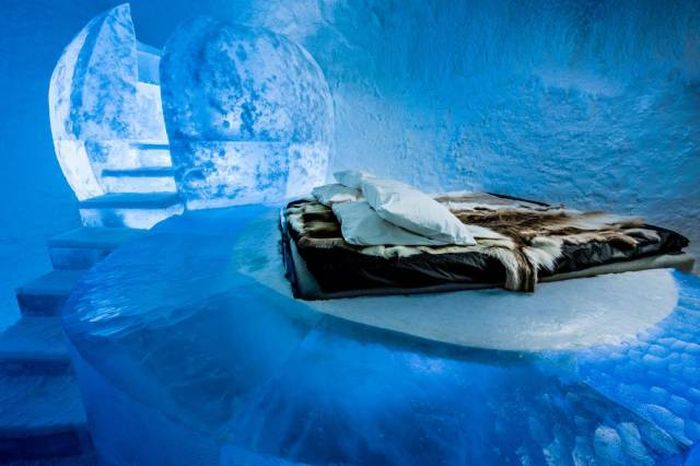 This Ice Hotel Doesn't Melt In The Summer